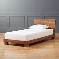 Twin Bed Mattress.Dondra Teak Bed