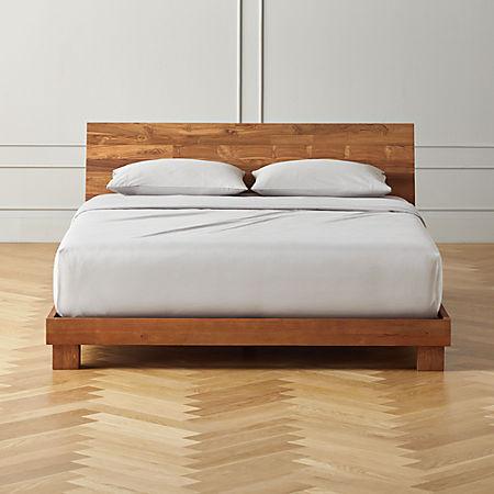 Dondra Teak Queen Bed Reviews Cb2, Teak Queen Bedroom Set