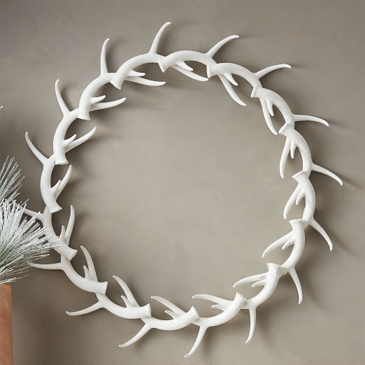 Donner Antler Wreath
