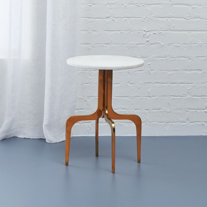 Delicieux Dorset Marble Side Table + Reviews | CB2