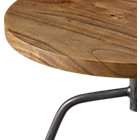 View product image dot acacia side table-stool - image 11 of 12