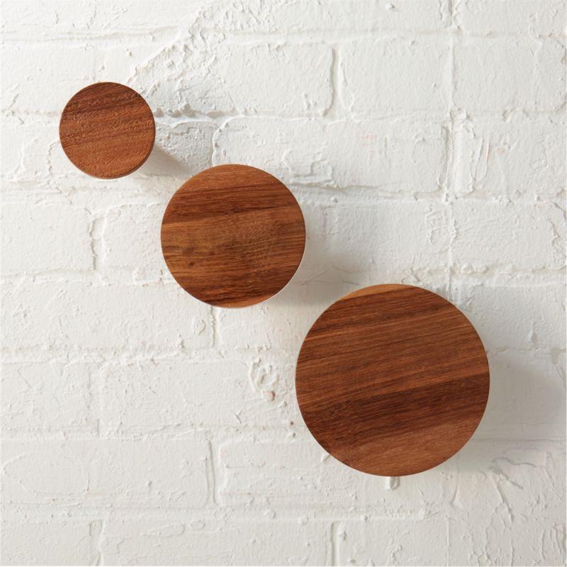 modern wall hooks | CB2