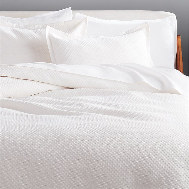 Dottie Neutral Matelasse Bedding - Image 1 of 4