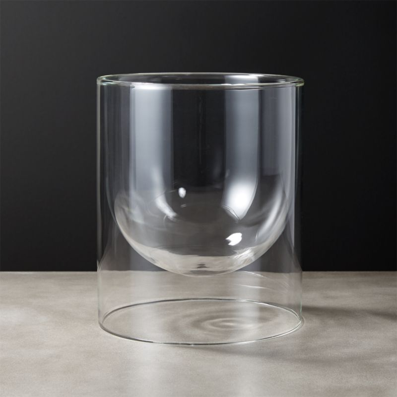 Glass Wall Vases Cb2