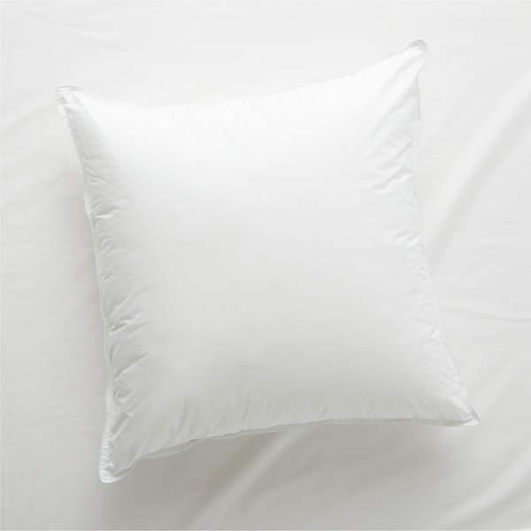 hypoallergenic down alternative euro pillow insert