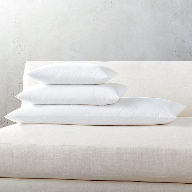 Down Alternative Rectangular Pillow Inserts - Image 1 of 2