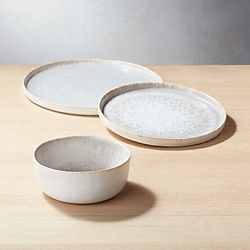 Drift Reactive Grey Dinnerware