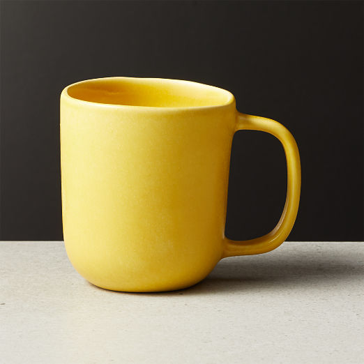Drift Matte Yellow Mug