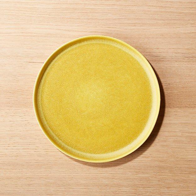 Drift Matte Yellow Salad Plate - Image 1 of 8
