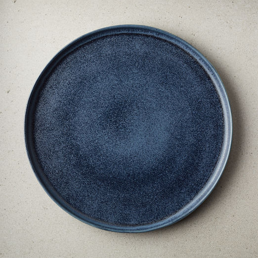 Drift Reactive Indigo Dinner Plate