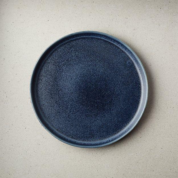 Drift Reactive Indigo Salad Plate - Image 1 of 6