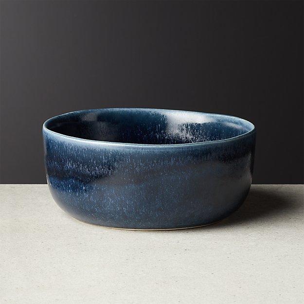 Drift Reactive Indigo Soup Bowl - Image 1 of 6