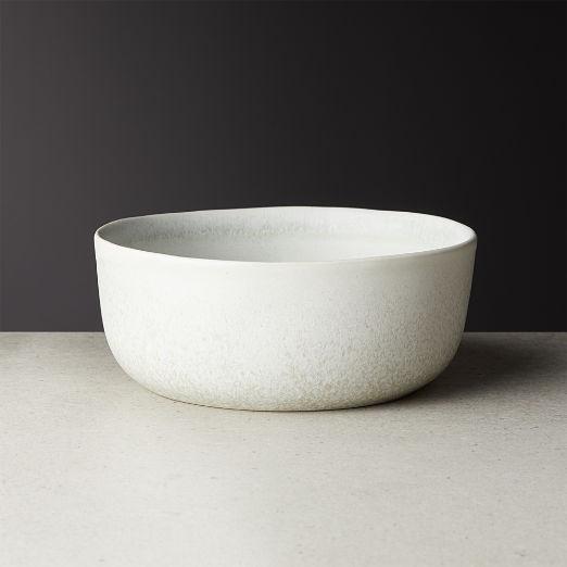 Drift Reactive Silver Grey Soup Bowl