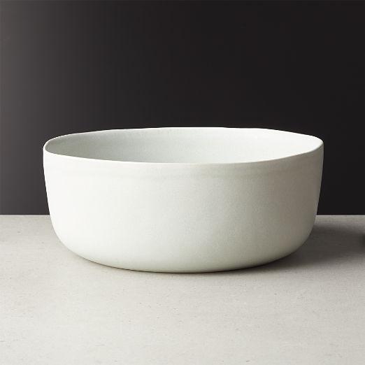 Drift Reactive Silver Grey Serving Bowl