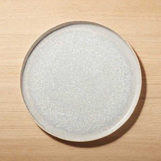 Drift Reactive Grey Dinner Plate - Image 1 of 9