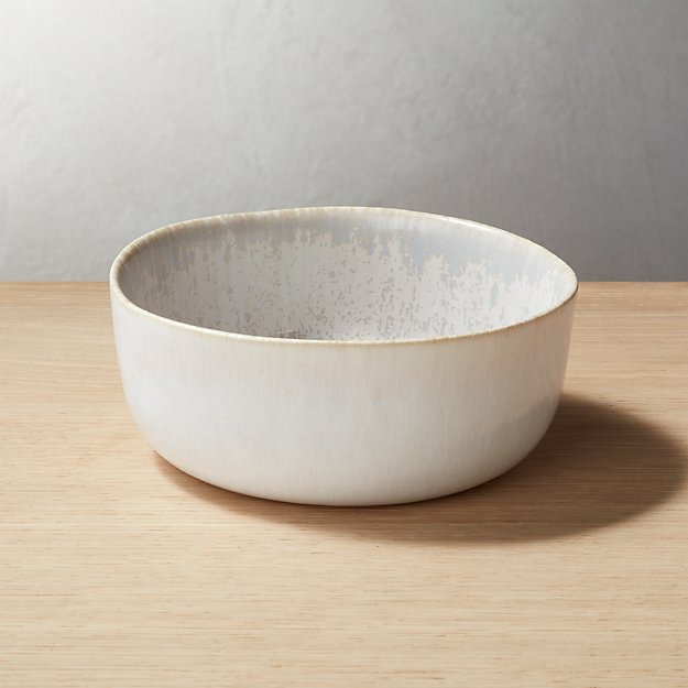 Drift Reactive Grey Soup Bowl - Image 1 of 9
