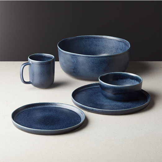 Drift Reactive Indigo Dinnerware