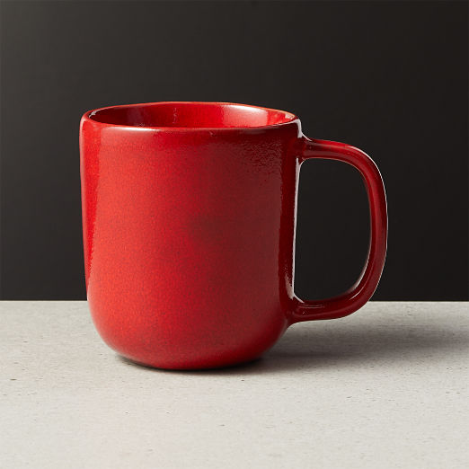 Drift Reactive Red Mug