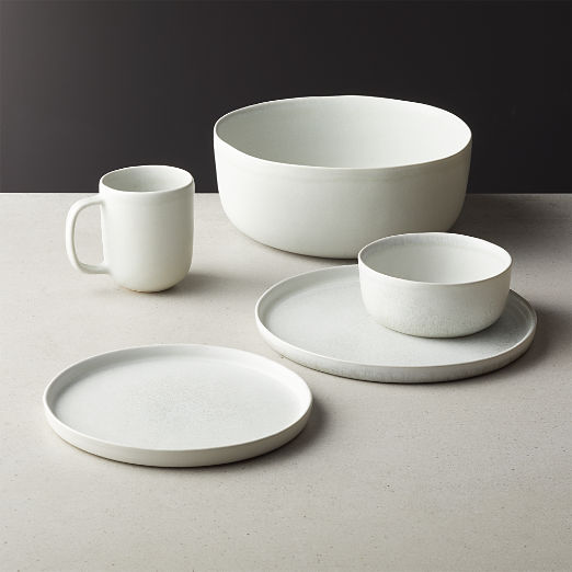 Drift Reactive Silver Grey Dinnerware