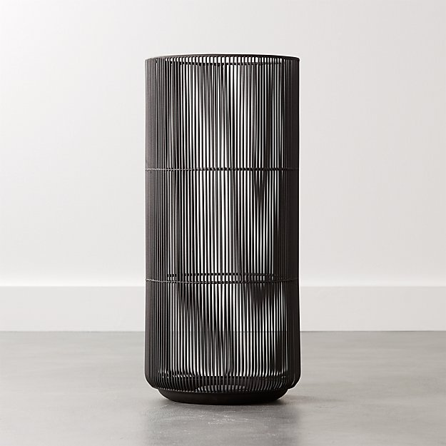 Drizzle Black Umbrella Stand - Image 1 of 7
