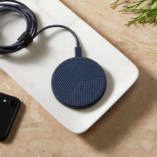 Drop Wireless Indigo Charger