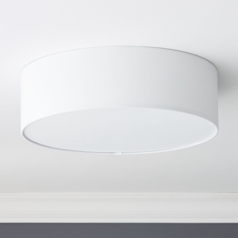 Drum Flush Mount Light