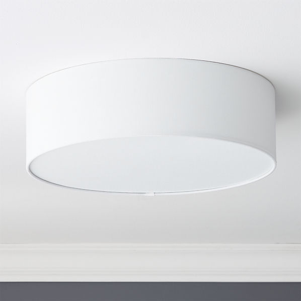 Drum Flush Mount Light 19 75 Reviews