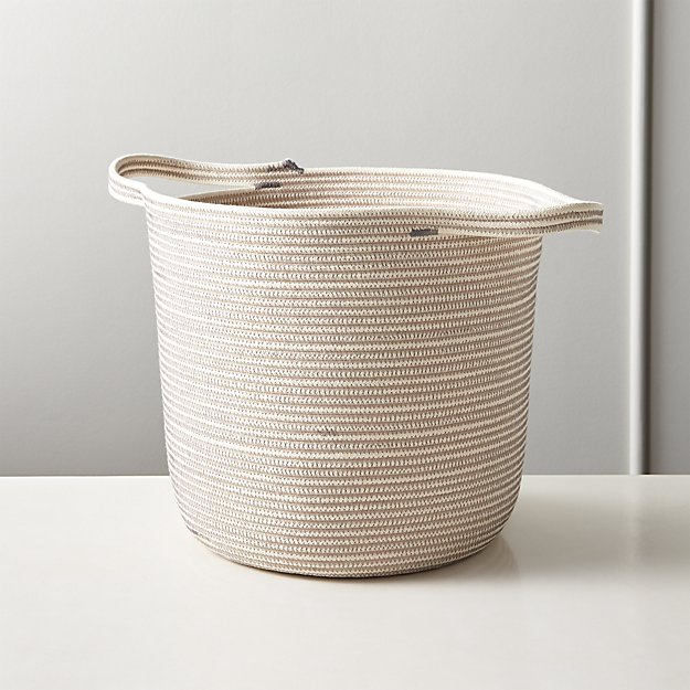 Dumbo Carrier Grey and White Basket - Image 1 of 4