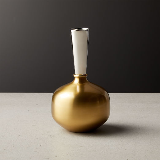 Duo Mini Two-Tone Vase