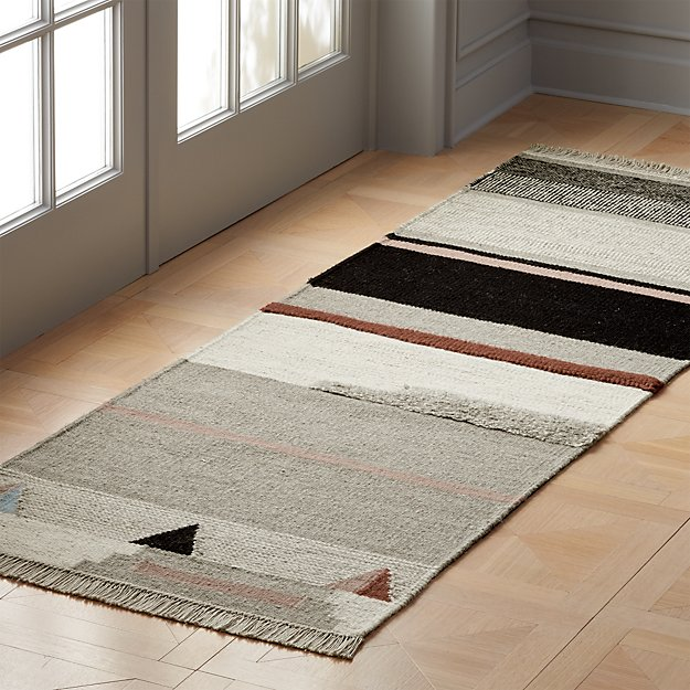 Dwell Multicolor Runner 2.5'x8' - Image 1 of 3