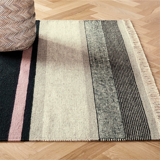 Modern Kitchen Rugs | CB2
