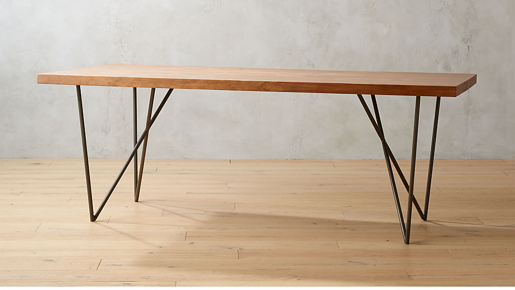 Dylan 36 X80 Dining Table 2 Reviews Cb2