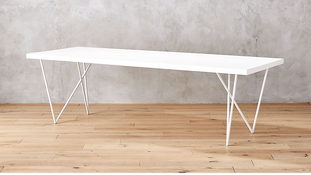 Dylan 36x104 White Plank Dining Table Reviews