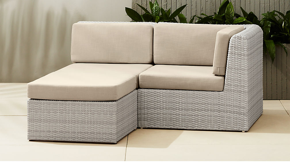 Ebb Small Outdoor Sectional Reviews Cb2