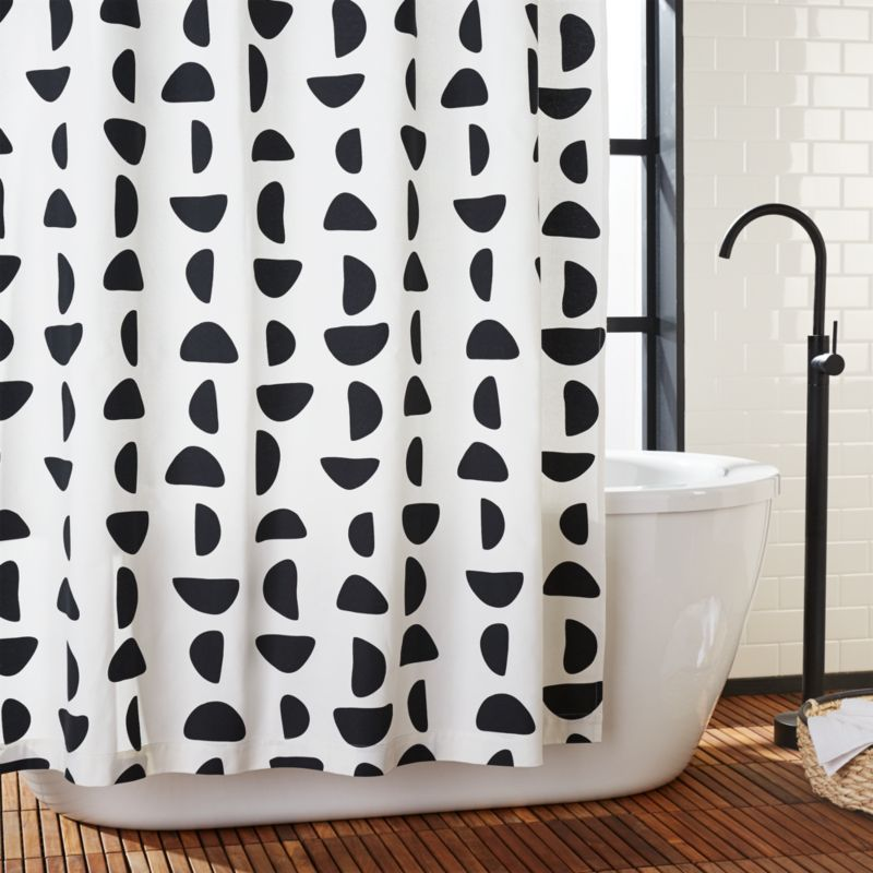 Beau Unique, Modern Shower Curtains | CB2