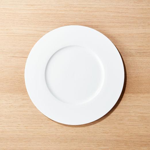 Eclipse White Salad Plate