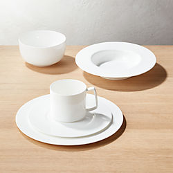 Eclipse White Dinnerware