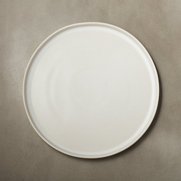 Ecru Natural Dinner Plate - Image 1 of 8