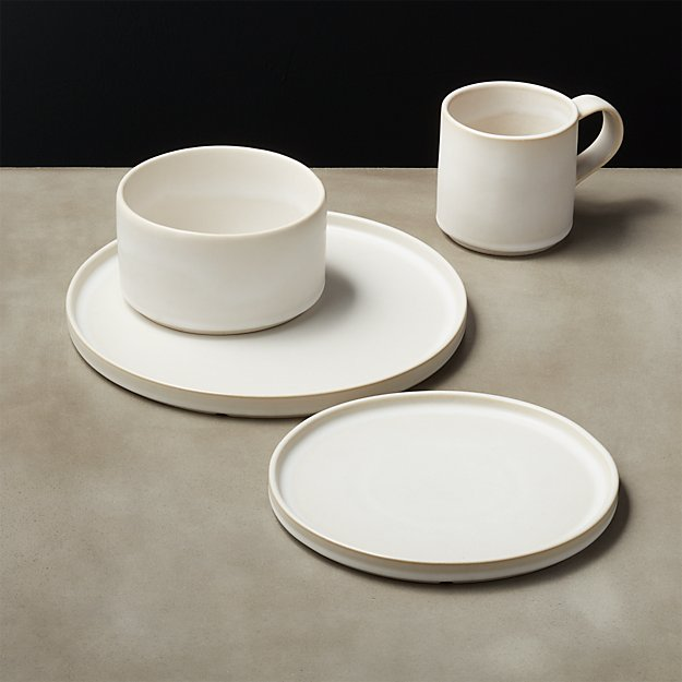 Ecru Natural Dinnerware - Image 1 of 7