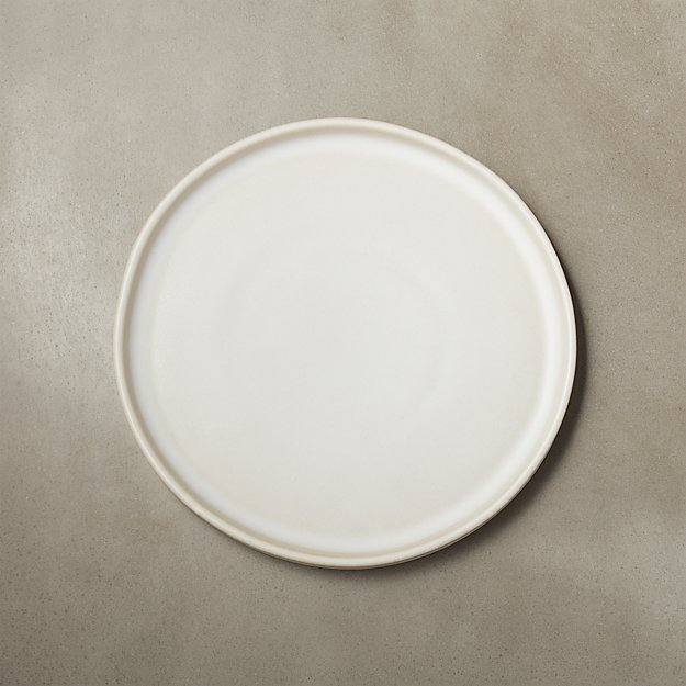 Ecru Natural Salad Plate - Image 1 of 8