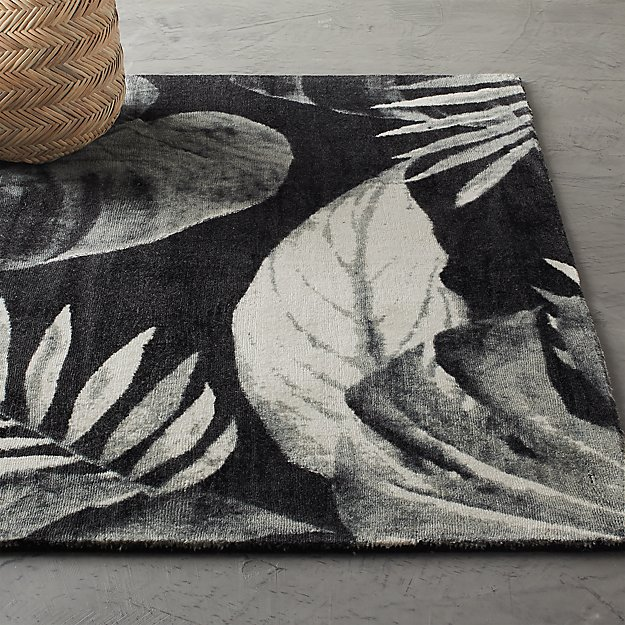Eden Hand Loomed Palm Rug - Image 1 of 9