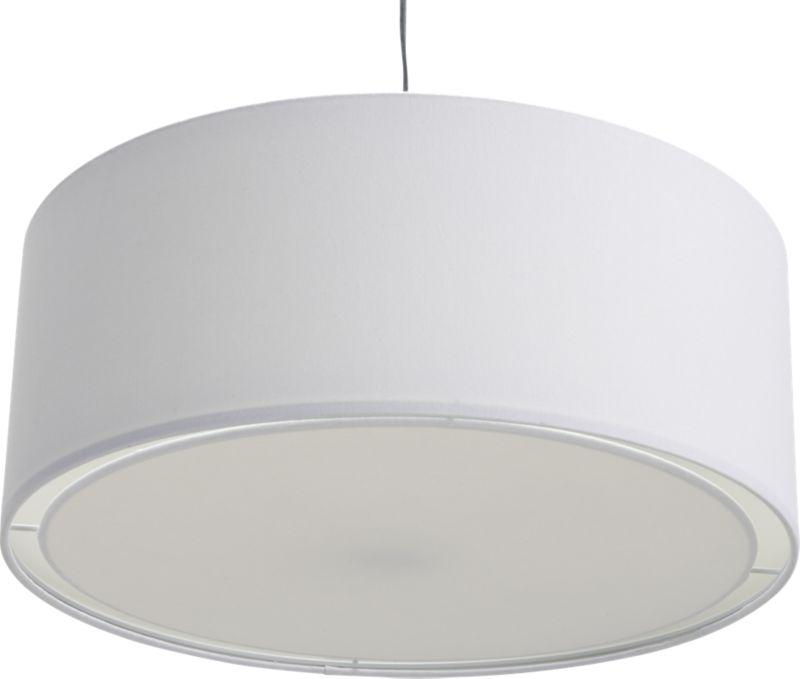 Eden white pendant light reviews cb2 aloadofball Images