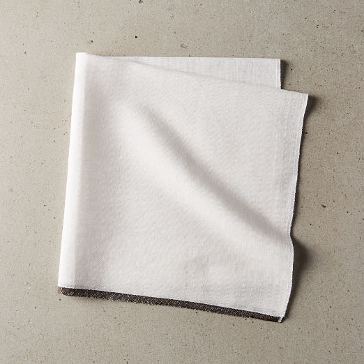 Edge Grey Napkin