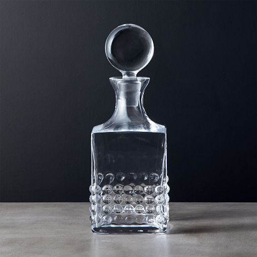 Effervescent Square Decanter
