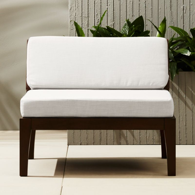 Exceptionnel Elba Outdoor Armless Chair + Reviews | CB2