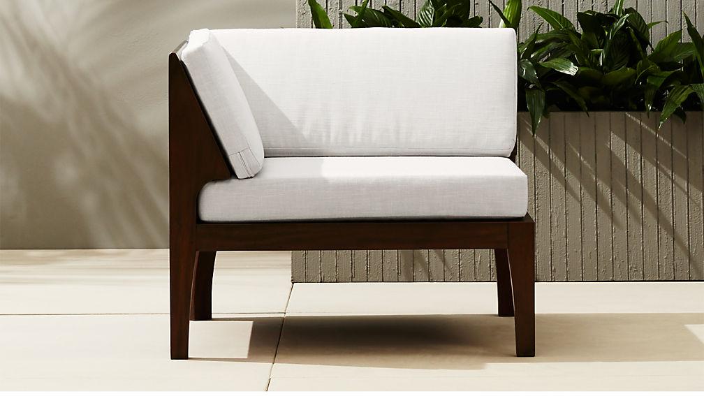 elba outdoor corner chair reviews cb2