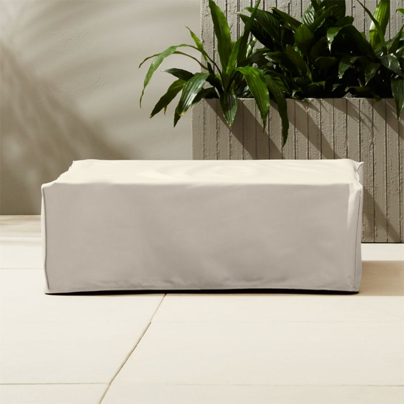 outdoor table covers. Elba Waterproof Ottoman-coffee Table Cover Outdoor Covers