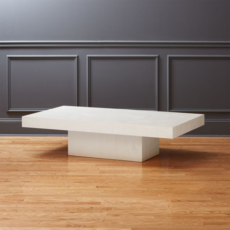 Concrete Furniture CB - Rectangular concrete coffee table