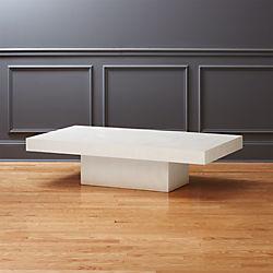 Element Ivory Rectangular Coffee Table