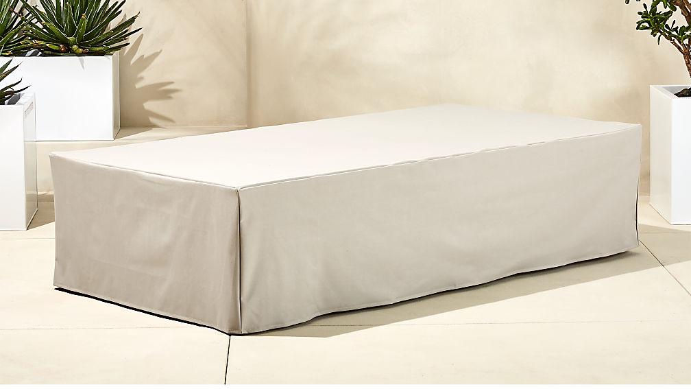Element Waterproof Rectangular Coffee Table Cover Reviews Cb2